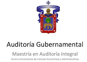 Curso: Auditoría Gubernamental