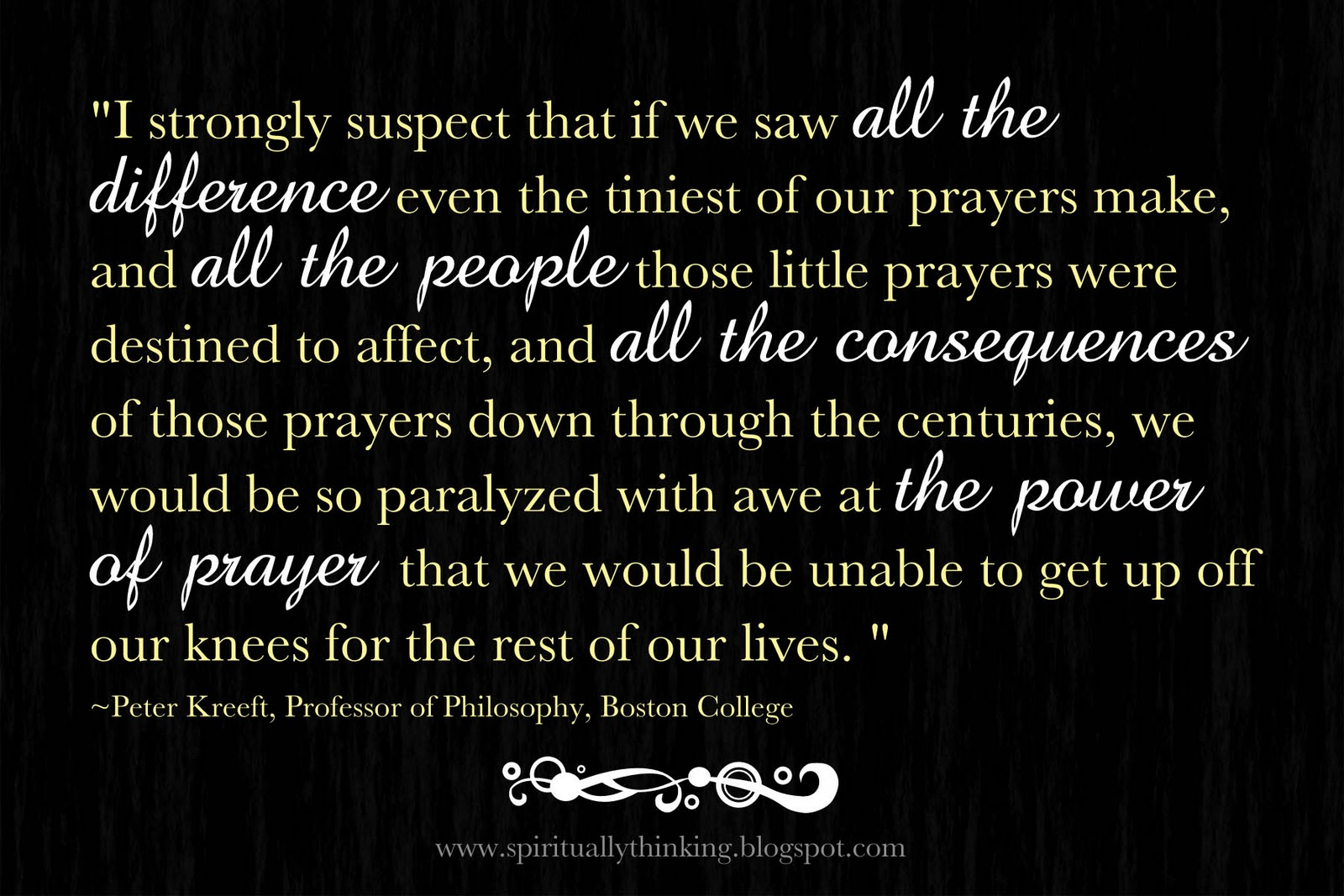 Power Of Prayer Quotes And Spiritually Speaking The Power Of Prayer