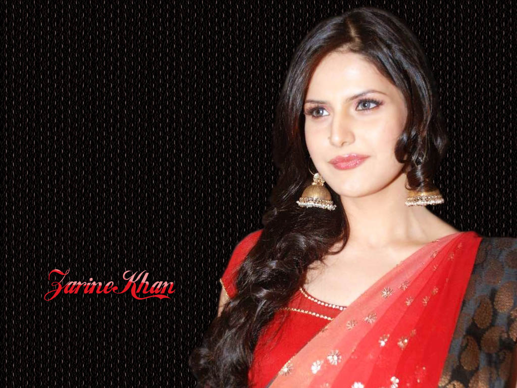 Beautifull Zarine Khan Wallpapers In Saree