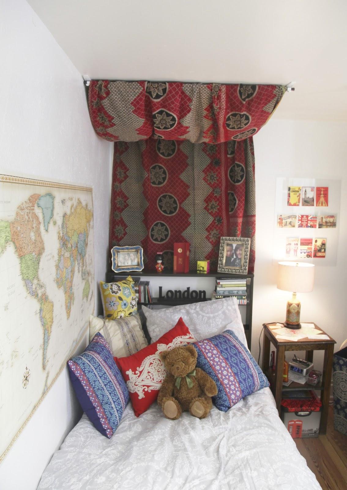 Olivia Grace Perspective Dorm Decor Ideas ~ 123645_Dorm Room Curtain Ideas