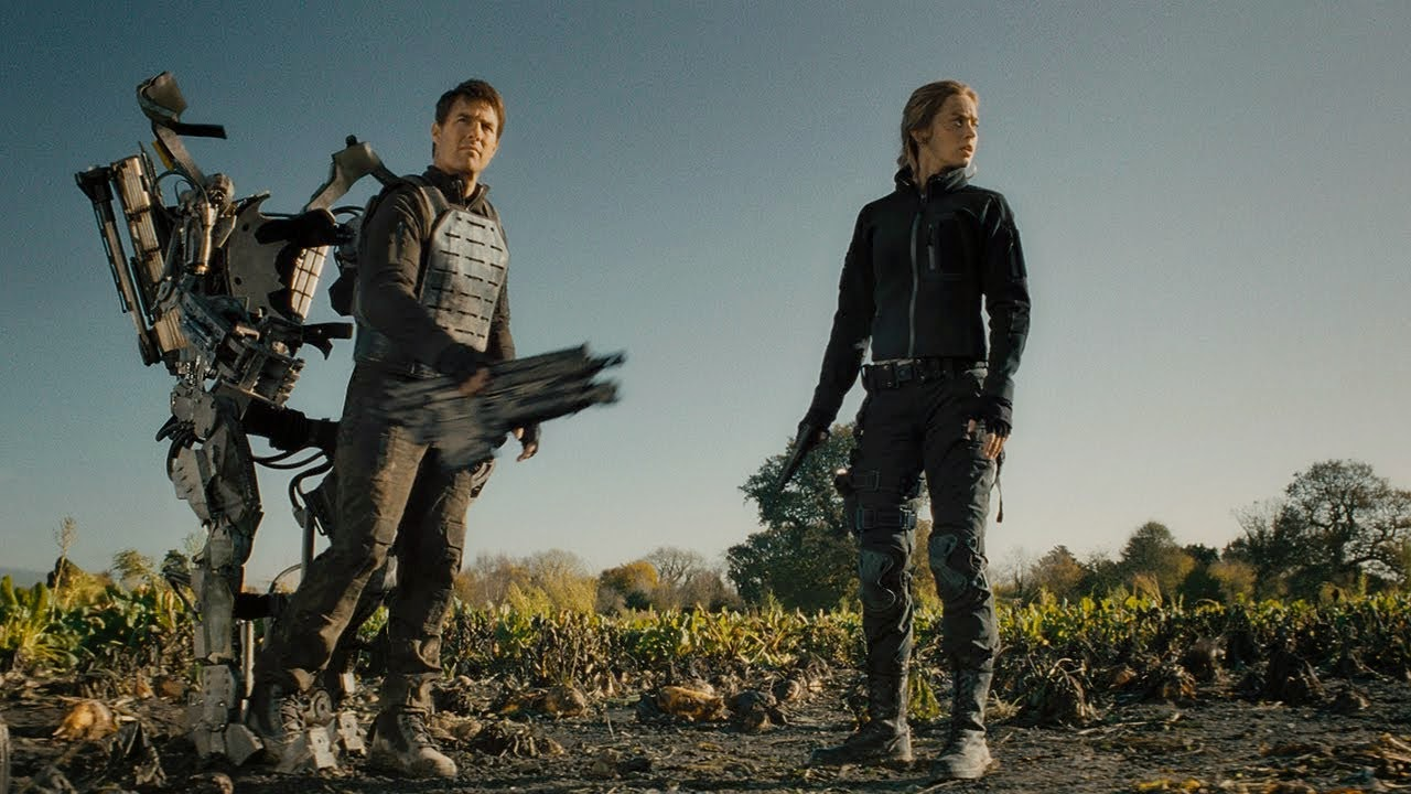 Edge of Tomorrow - Tom Cruise & Emily Blunt | A Constantly Racing Mind