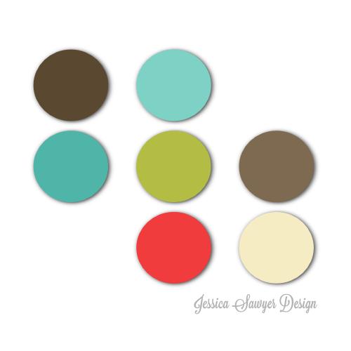 4 Christmas Color Schemes Jessica Sawyer Design