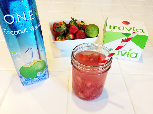 how to make strawberry limeade