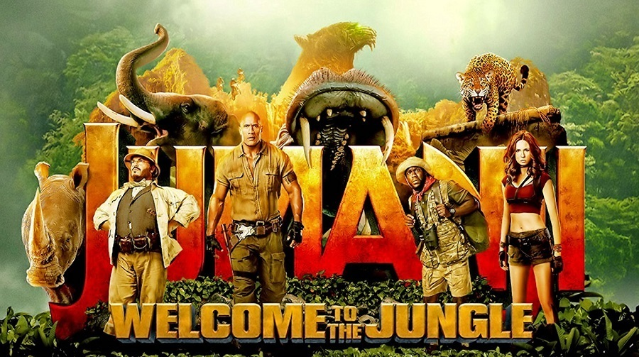 Jumanji - Welcome to the Jungle Bluray Mp4 Baixar Imagem
