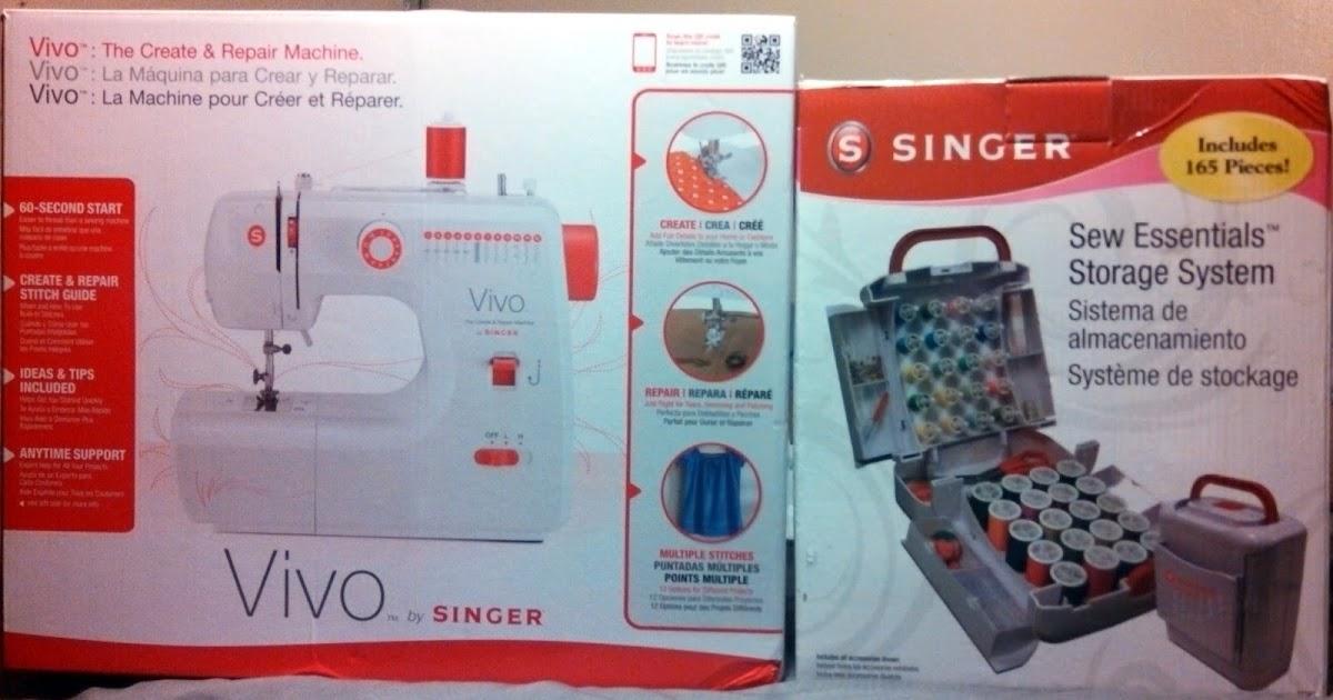 Inside My Brain Vivo The Create And Repair Machine By Singer Review Simple Vivo Singer Sewing Machine