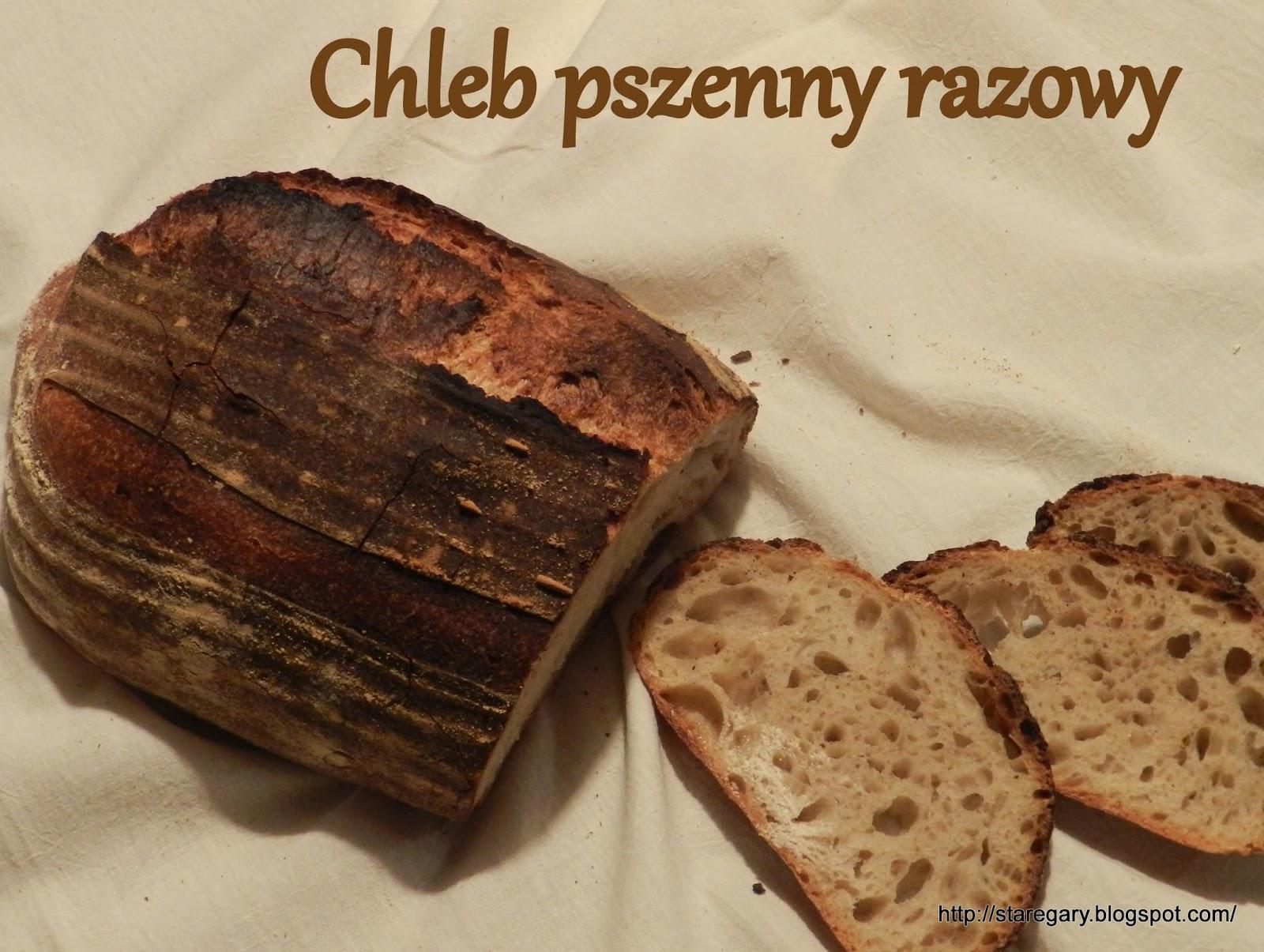 Chleb pszenny razowy na zakwasie Hamelman'a