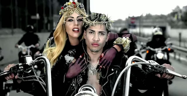 lady gaga judas video jesus actor. Apparently the video racked up