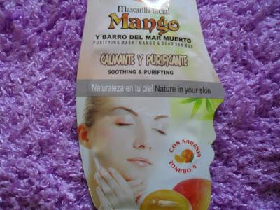 Mascarilla de mango y barro del mar muerto, S&S