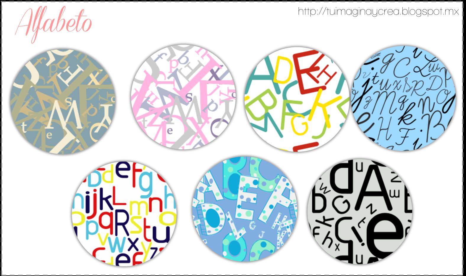 pattern alfabeto
