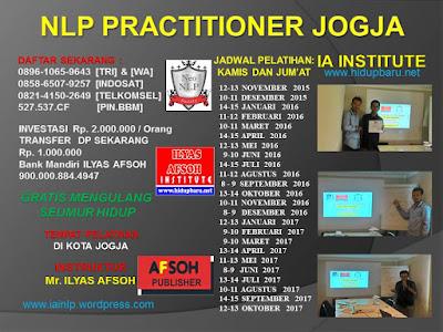 Jadwal Pelatihan NLP Jogja 2016 2017