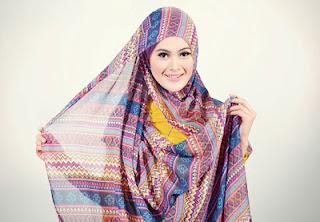 Cara memakai Jilbab, Cara memekai Kerudung Pashmina