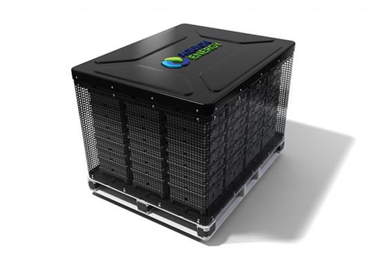 Pin năng lượng Aquion đủ sạch để có thể ăn được một miếng điện cực của pin