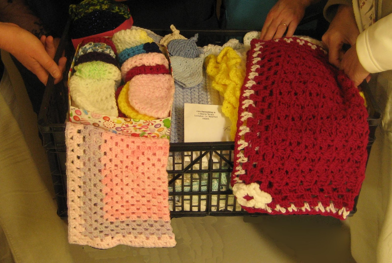 Knitting Patterns For Neonatal Units : The Wool Shop: More Blankets for the Neonatal unit