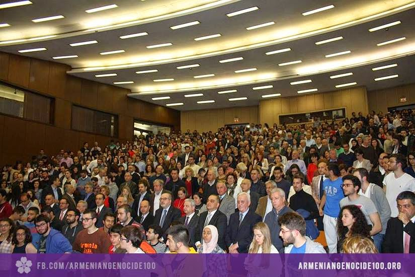 Armenian Genocide Centennial   The world's eyes
