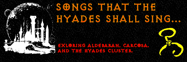 Songs that the Hyades shall sing