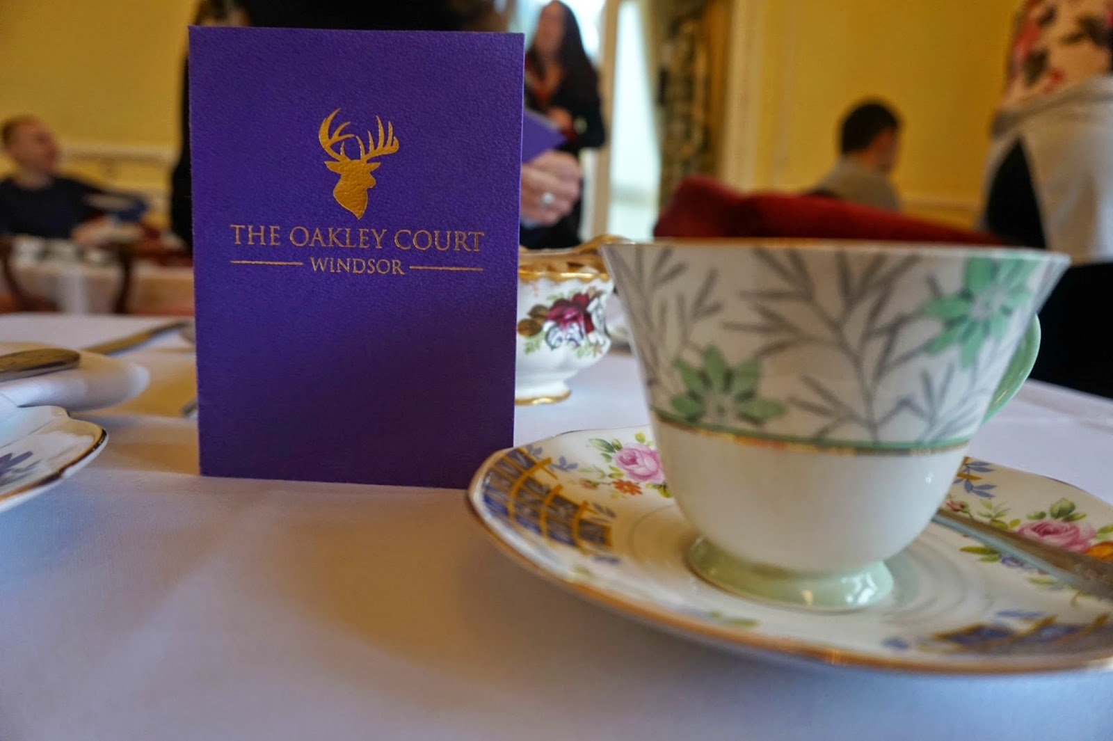Oakley Court Windsor Afternoon Tea