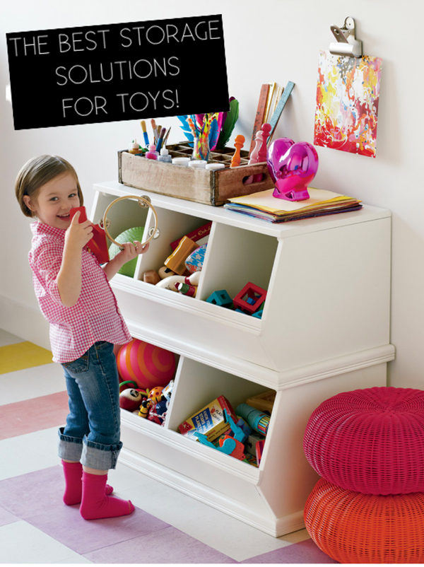What Are The Best Storage Solutions For Toys Shaweetnails