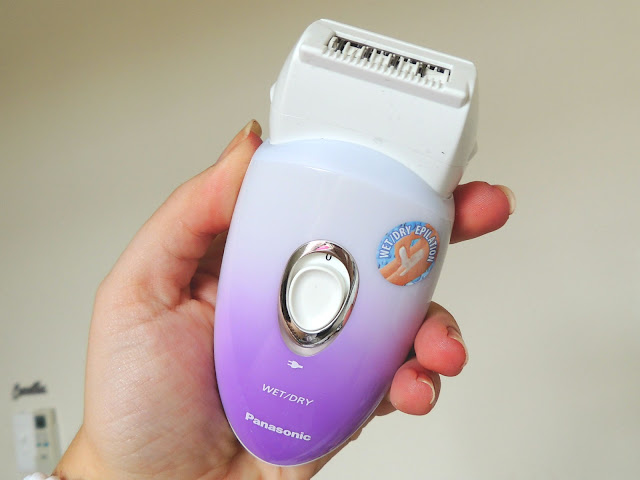Jane Wonder || Panasonic Wet/Dry Epilator Review