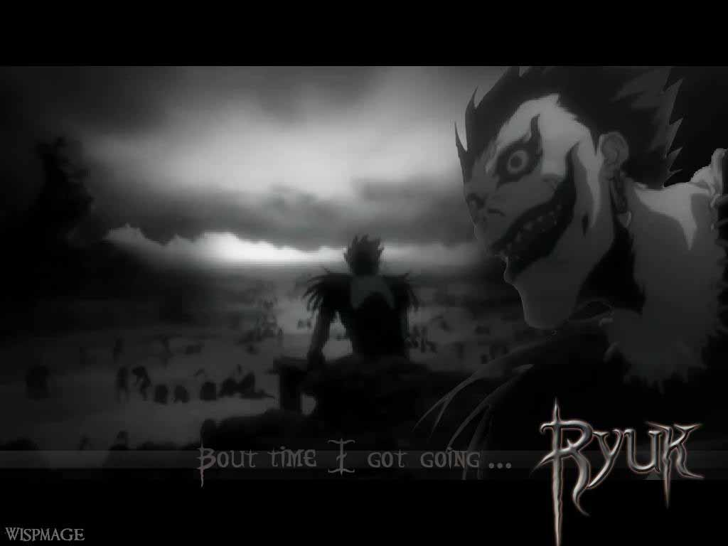 HQ Wallpapers: Death Note Ryuk Wallpapers