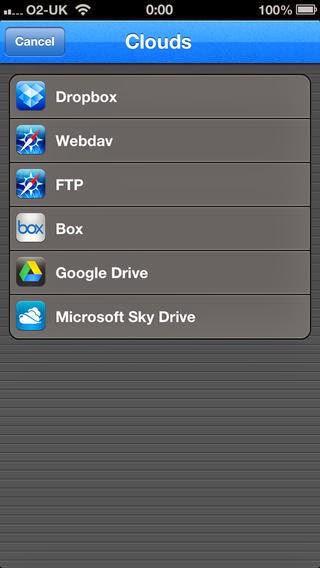 تطبيق مجاني لإدارة وعرض وتنظيم الملفات للأي فون وألأي باد والأي بود File Manager FREE-IPA-iOS
