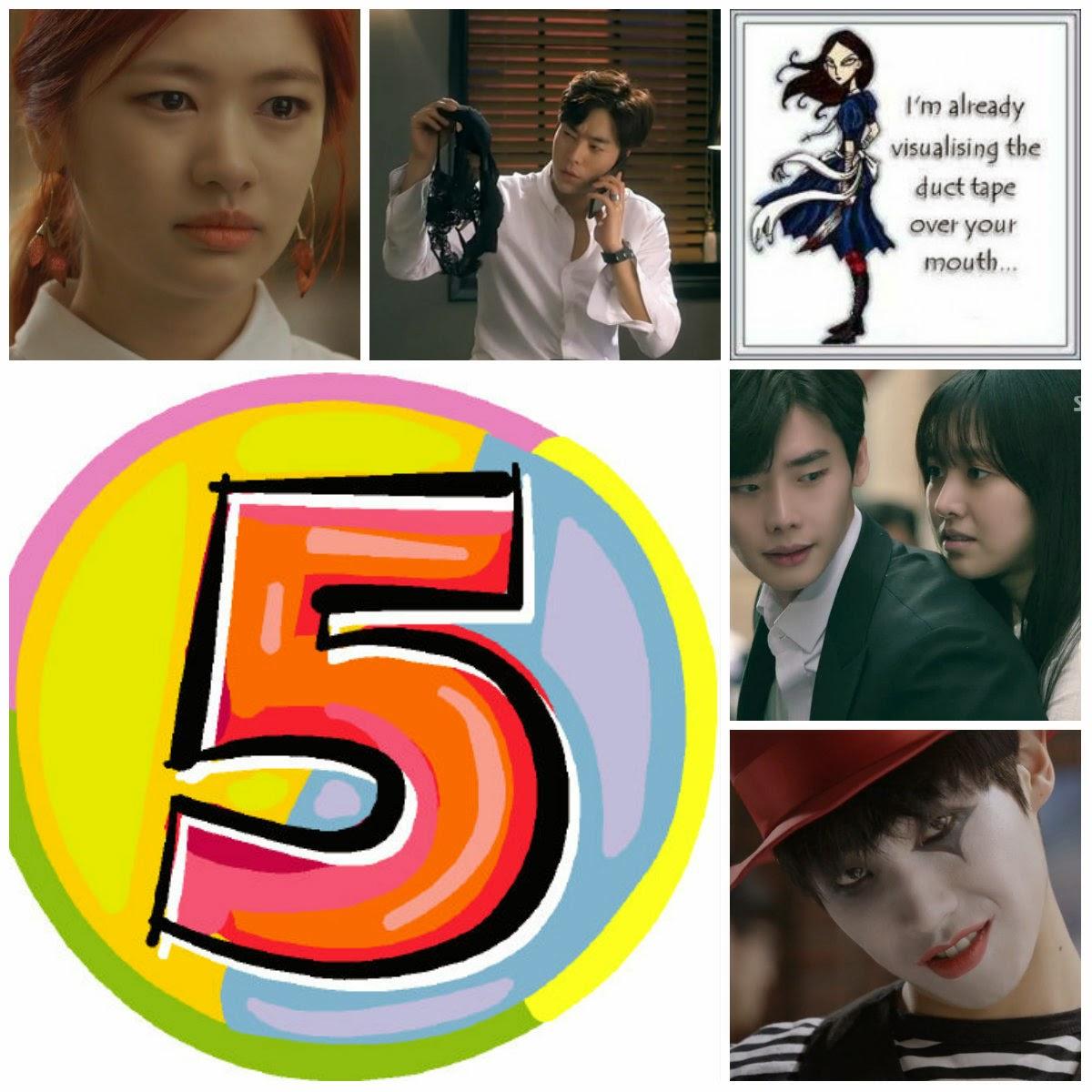 The Crazy Ahjummas: Top 5 Kdrama Countdown - May Week 4