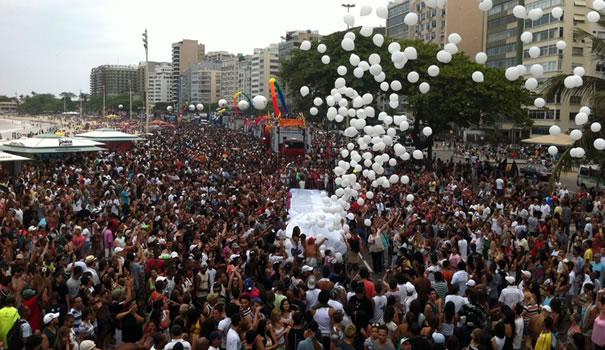 Parada do Orgulho LGBT do Rio de Janeiro de 2011 (Foto: Arquivo/Gay1)