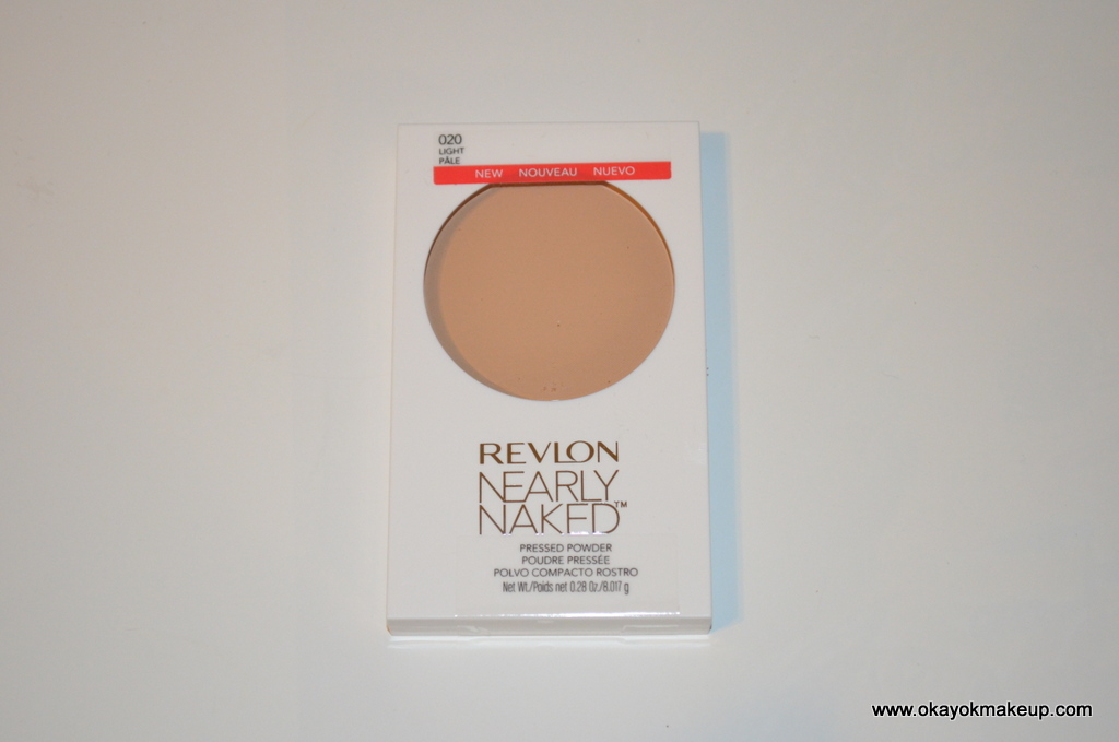 Revlon Nearly Naked Pressed Powder Review - My Skincare Regime