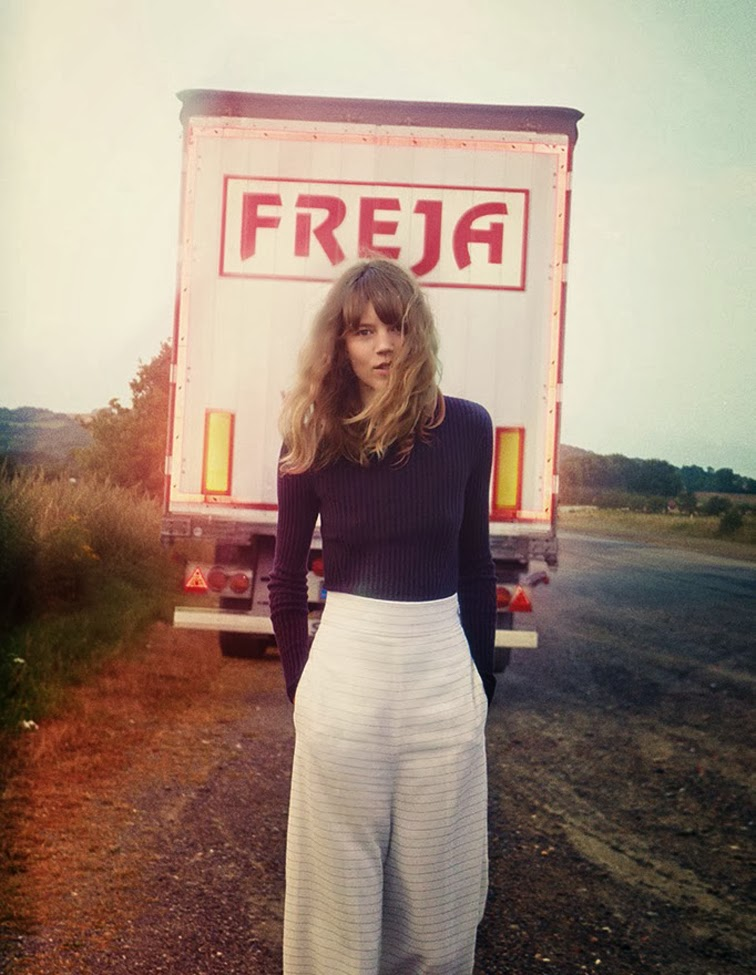 Freja Beha Erichsen Vogue UK