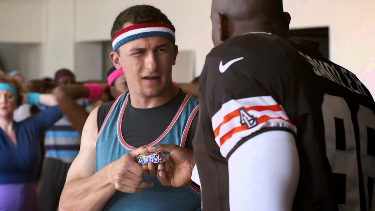 Johnny Manziel is JamBoogie Man In Hilarious New Snickers Commercial