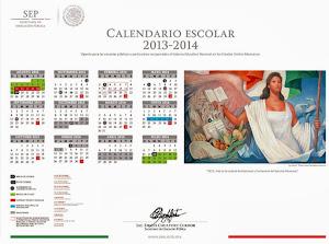 Calendario escolar 2013-2014 SEP