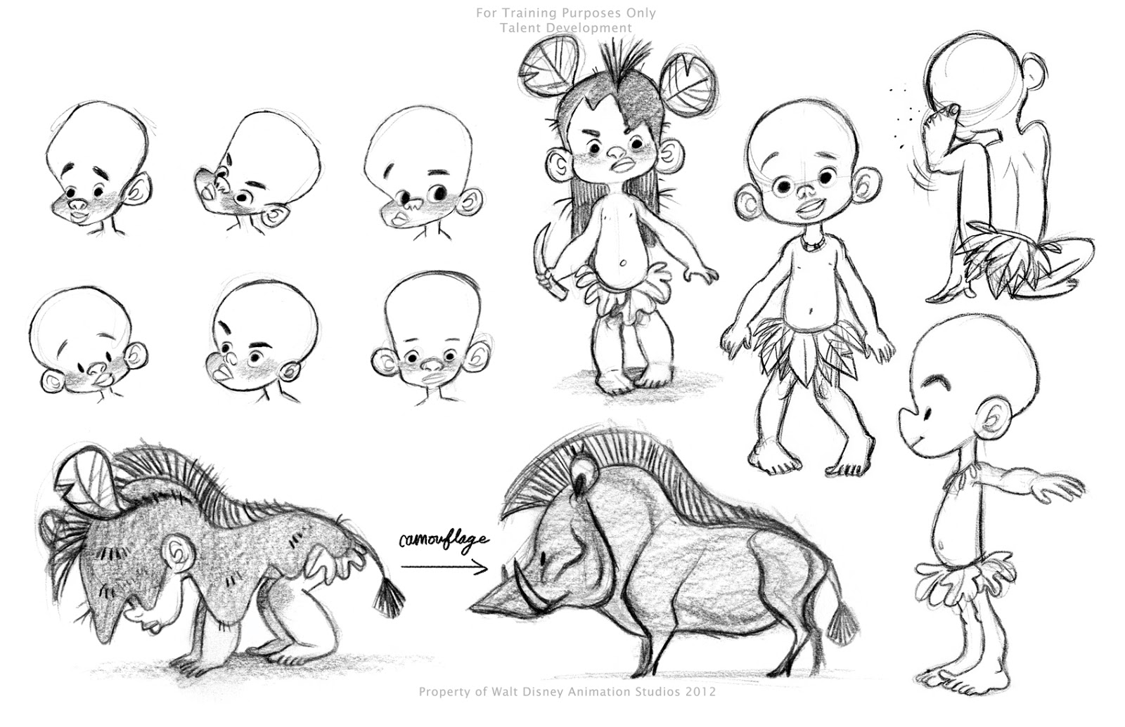 Disney Character Design Study : Art portfolio of elsa chang