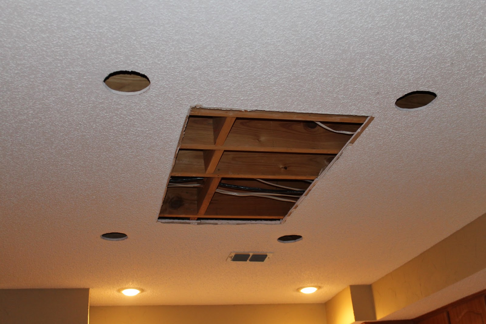 Life\'s Sweeter with Chocolate: Installing Kitchen Canned Lighting ...