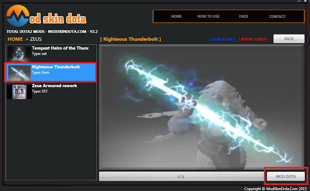 [Mod Dota] Righteous Thunderbolt