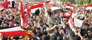 القوى الثورية المصرية تعلن نزولها الجمعة القادمة 26/7/2013 تلبية لدعوي السيسي لردع الارهاب