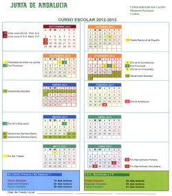 Calendario Escolar Crdoba