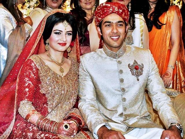 Aisam Ul Haq Wedding Picture | Ladies Mails