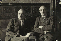 Vladimir Maiakovski y Osip Brik