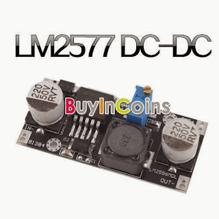 New DC-DC to DC Adjustable Converter Step-up Circuit Board Module LM2577