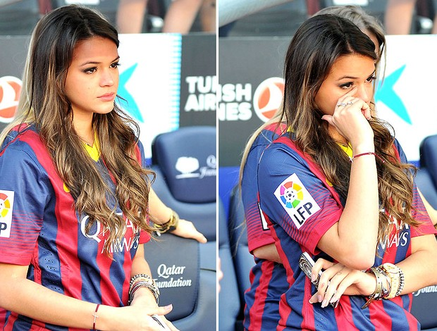 Bruna Marquezine Gets Emotional And Cries At Neymar S Presentation As