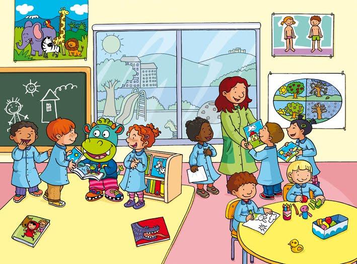 El blog de alins ilustraci n septiembre 2011 for A que zona escolar pertenece mi escuela