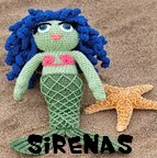 http://patronesamigurumis.blogspot.com.es/2013/12/patrones-sirenas-amigurumis.html