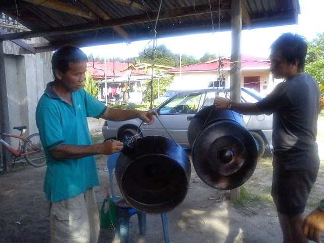Kampung Sumangkap, The Gong Making Village