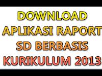 Aplikasi Raport SD berbasis Kurikulum 2013