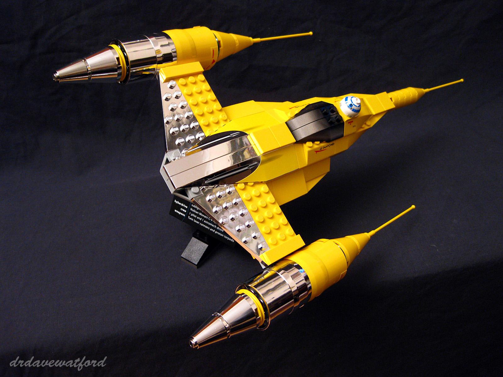 lego naboo starfighter instructions