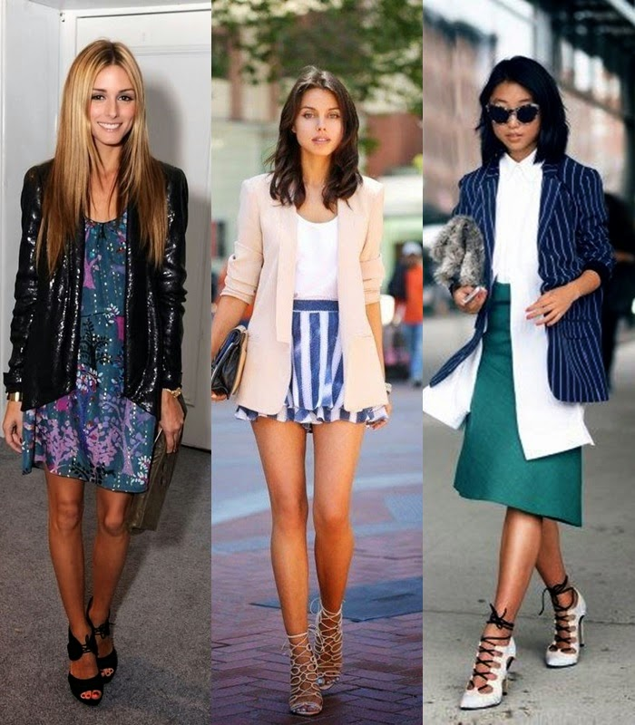 Moda - Blazers, casacos compridos tendência primavera 2015