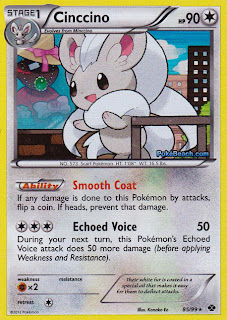 Cinccino Next Destinies Pokemon Card