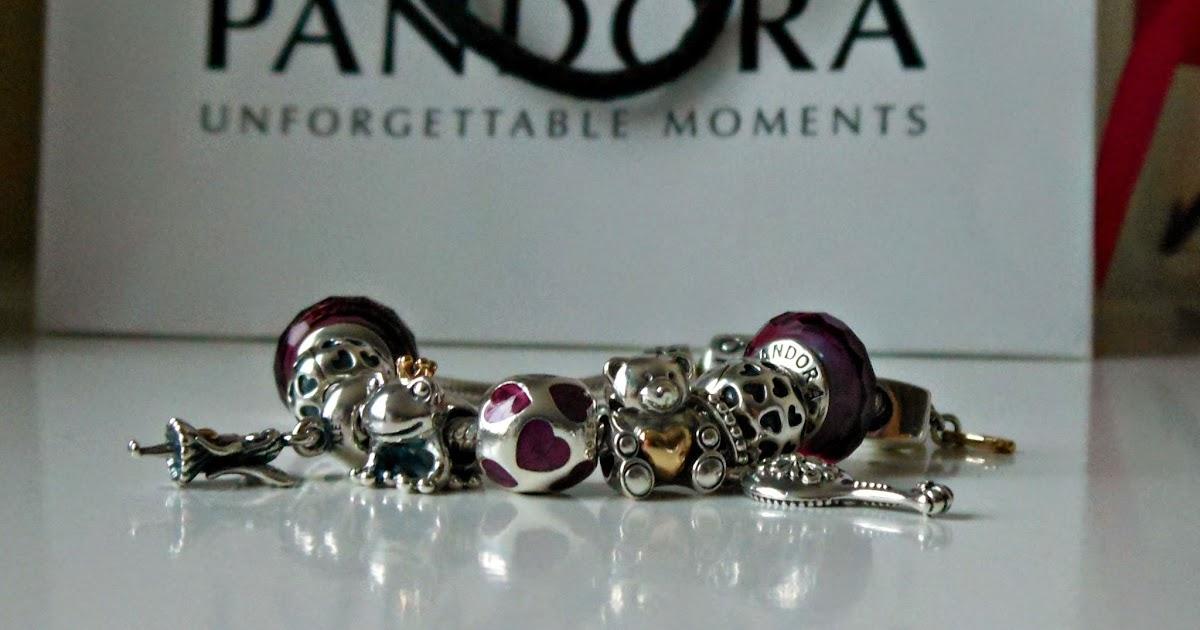 pandora i heart u charm bracelet