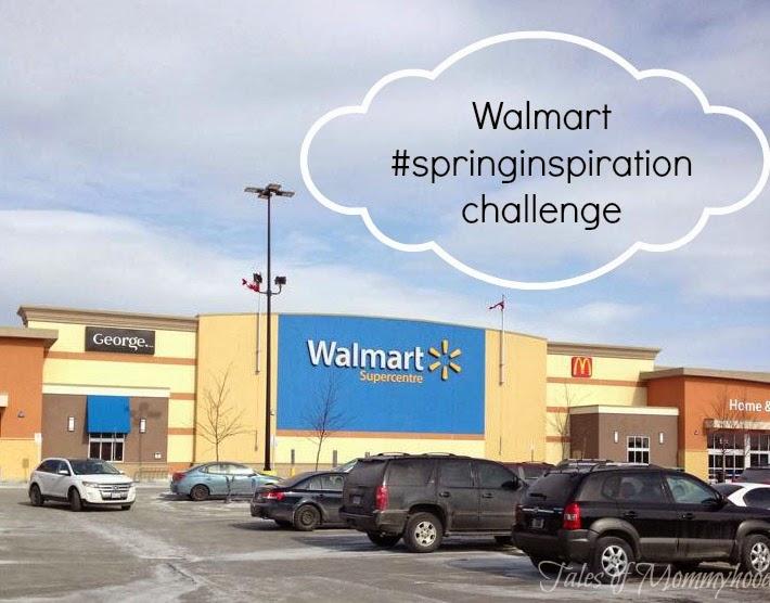 walmart, spring cleaning, organizing, #springinspiration challenge