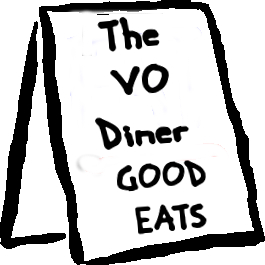 VO Diner Graphic