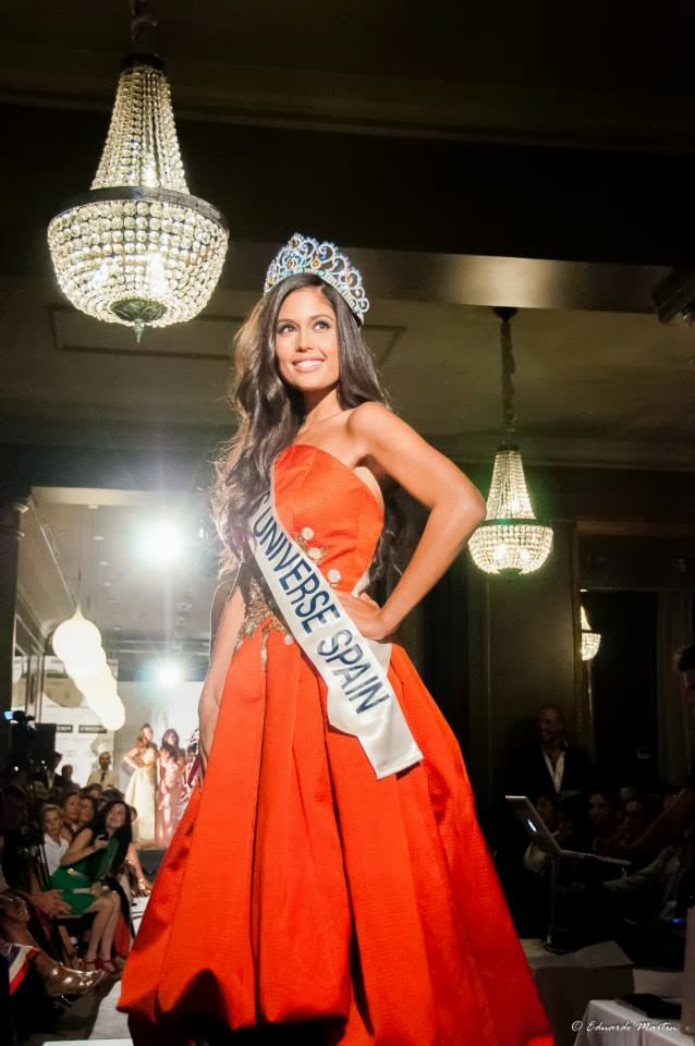Miss Universe Spain 2013 Patricia Yurena Rodriguez Alonso